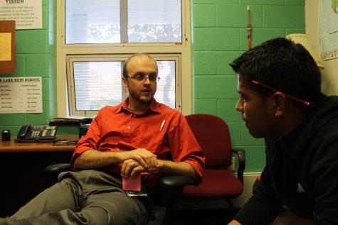 """Mr. Scott Speaks """"Student"""""""