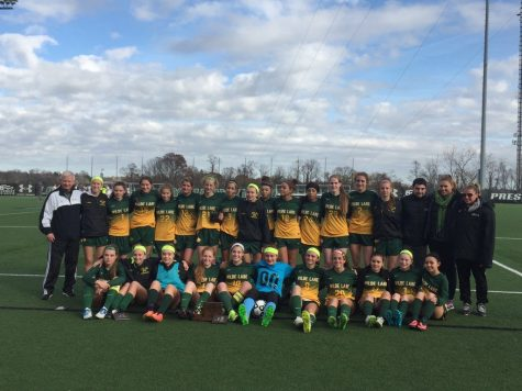 Girls Soccer Ends Season with 1-0 Loss in 2A State Finals