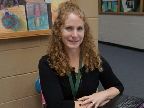 Ms. Henderson is a New Addition to the English Department and Yearbook