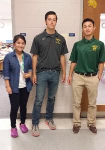 Maria Halagunea (Ms. Becker), Gavin Watson (Chris Brewington), Zach Smythe (Mr. Pickett)