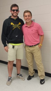 Pierson Swanson (Coach Faries), Jordan Wright (Coach Schafer)
