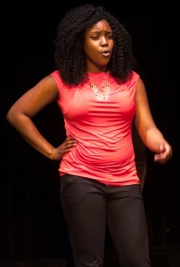 Wilde Lake and Howard County Poetry Out Loud Champion Ni'Jah Richardson soliloquizes her two winning poems.