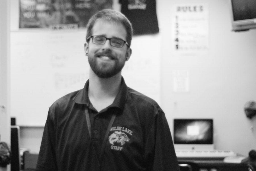 Mr. Crouch Fills Gap in Choir Department