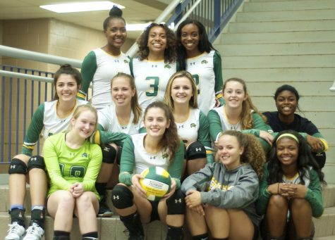 Wilde Lake Varsity Volleyball beats Glenelg for the first time in over four years