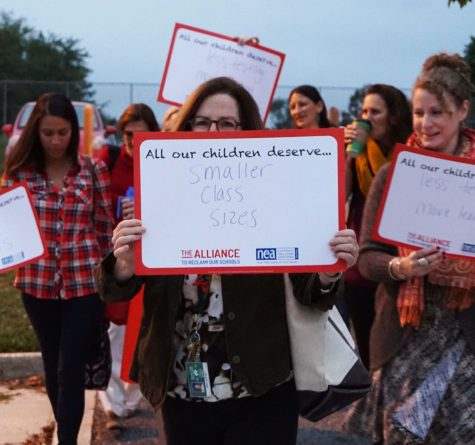 Teachers Wear Red, Protest for Student Rights, Fair Pay