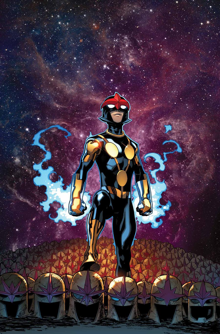 Nova, a Latino character, is helping add diversity to the comic book universe.