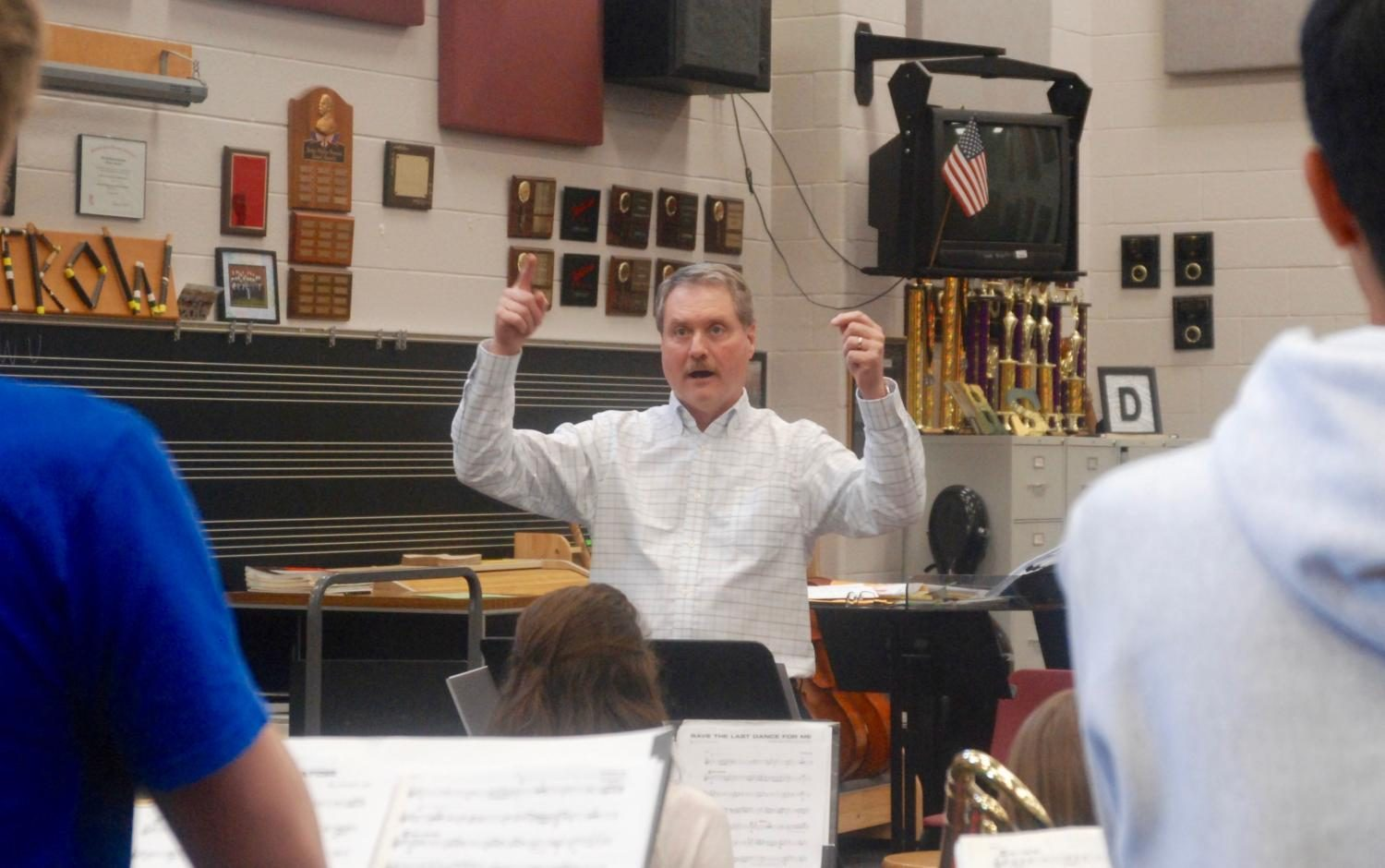 Band Conductor Mr. Dutrow Wins Outstanding Music Educator Award