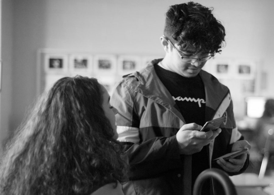 Joanna Amaya and Taha Nasir use social media to connect with friends