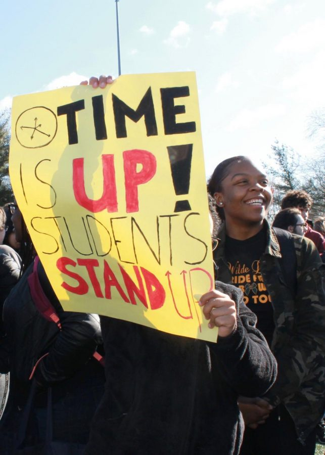 Wilde Lake Students Participate in Nationwide Walkout to Protest Gun Violence