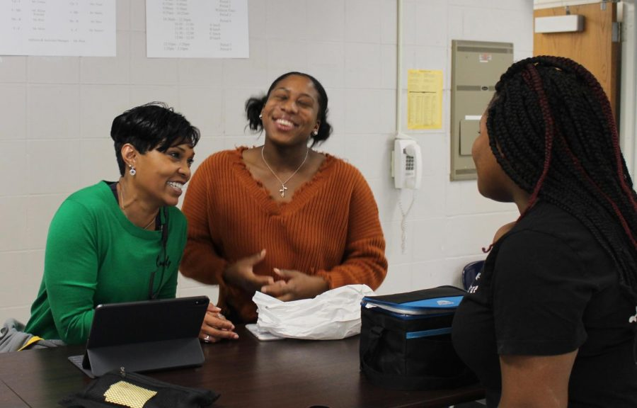 Ms. Jackson Watches Students Grow From Middle To High School