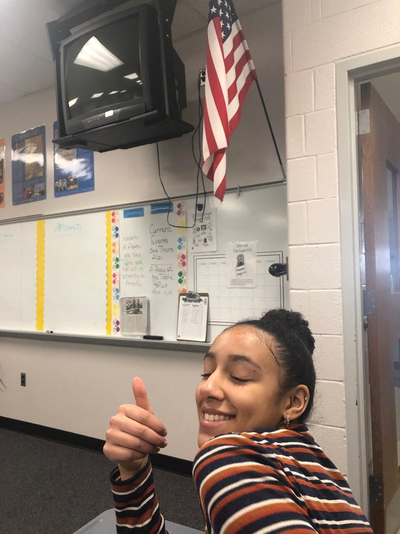 Meridian+Mccall+%2811%29%2C+gives+an+enthusiatic+thumbs-up+after+completing+an+assignment+in+World+History+AP