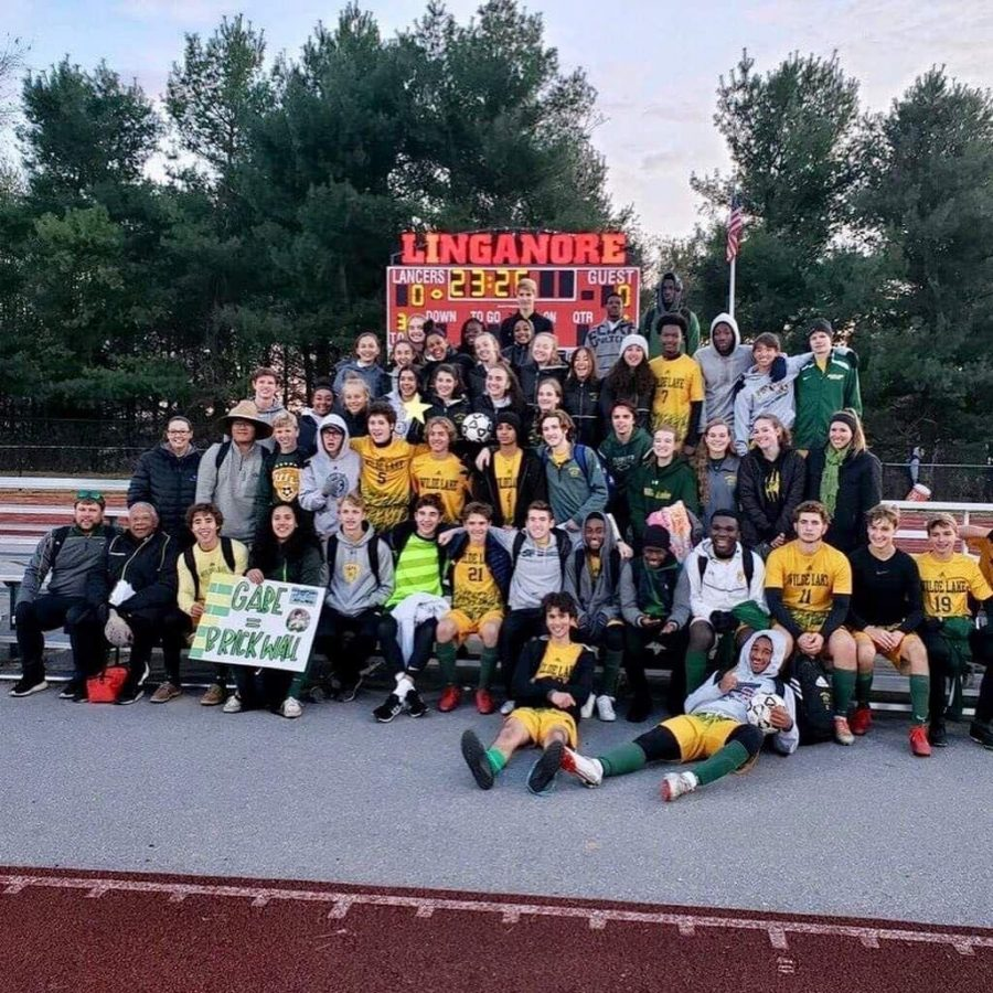 The+Wilde+Lake+soccer+program+are+pictured+celebrating+their+victories+aganist+Mount+Hebron+%28boys%29+and+Chesapeake+High+%28girls%29.+