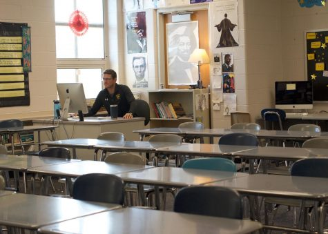 Teachers are learning to navigate teaching lessons to an empty classroom.