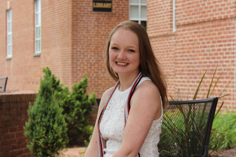 Ms. Brookman Graduating from McDaniel College in 2020.