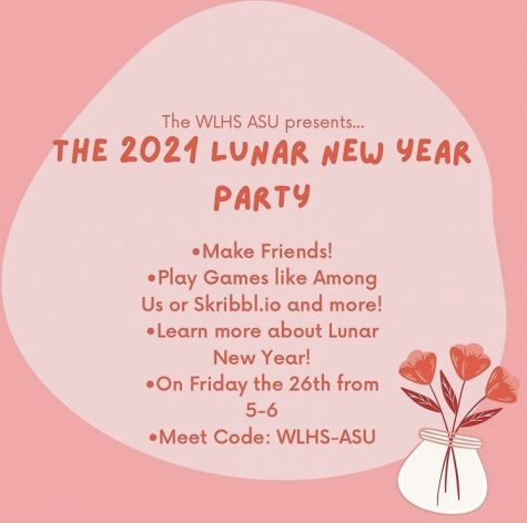 Wilde Lake's ASU spread the word of their Lunar New Year celebration via Instagram at the end of February.