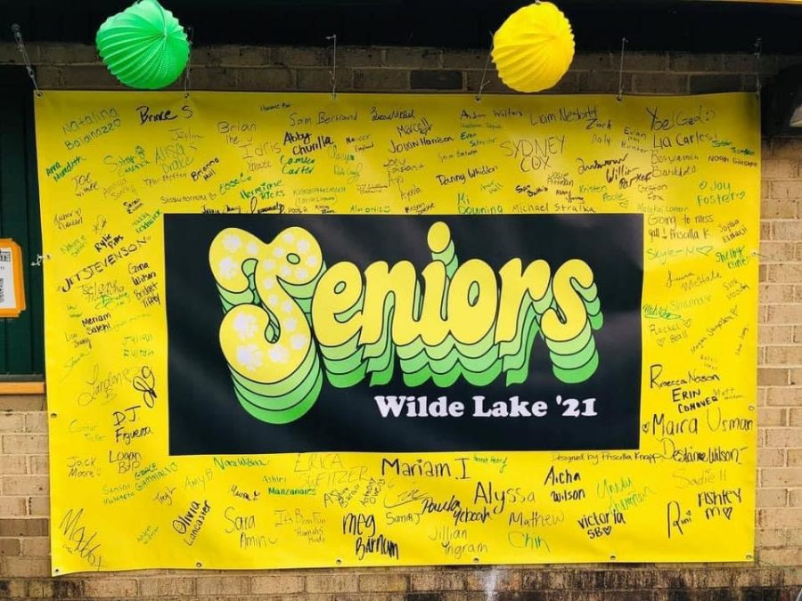 This is the poster signed by just about all of Wilde Lake