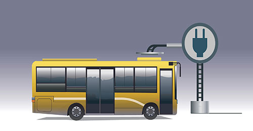 HCPSS will introduce two electric school busses next school year as part of a greater county-wide decarbonization commitment. (Photo from HCPSS News)